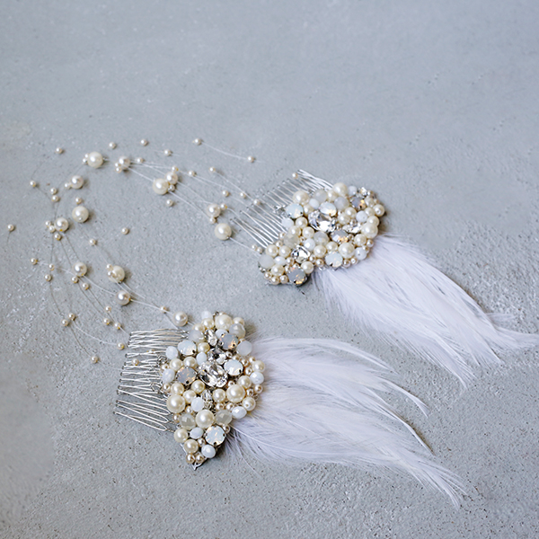 Swan Head Dress
